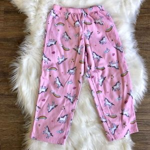SALE Carter's Unicorn Pajama Pant in Size 5T